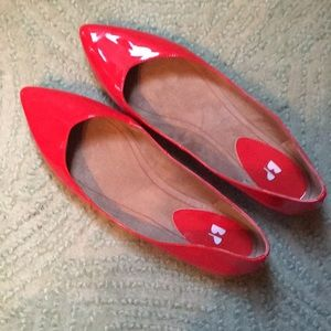 Red BP Flat Shoes from Nordstrom.